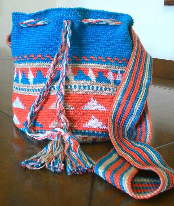 Bolsa wayuu da Divino Crochet!