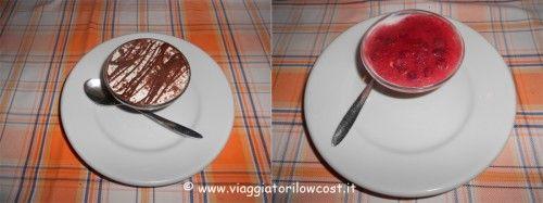 Pan di stelle al cioccolato e cheesecake alla fragola della Pizzeria Shekkinah a Volla (#Napoli)