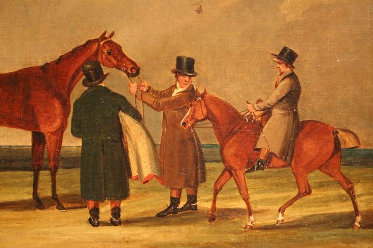 Equestrian Sporting Paintings After Henry Alken.