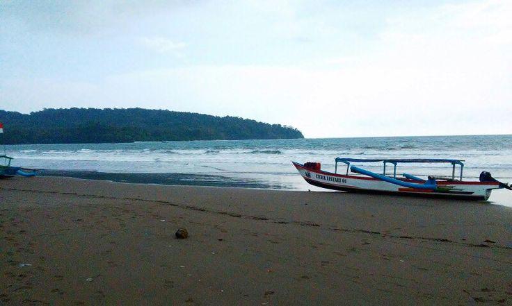 West Coast, Pangandaran, West Java, Indonesia