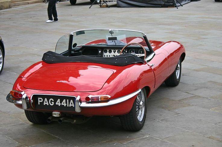 Jaguar E-Type Serie 1 Flatfloor