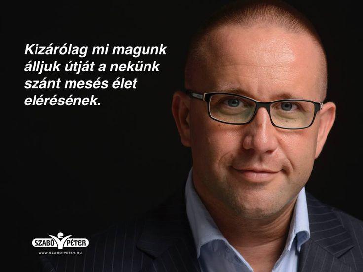Szabó Péter motivációs idézet