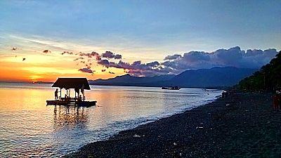 PhilippinesTravel-AboutVisayasAreGood  Pandan Beach Resort, Antique. Lovely sunsets here at a great resort.