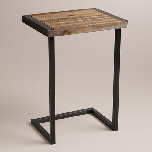 Would make for a great night stand that could double as a breakfast in bed tray!
