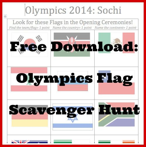 Olympics Activities for Kids- Kid World Citizen