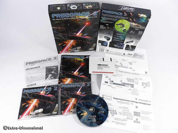 Freespace 2 for PC by Interplay Entertainment, 1999, Simulation, Sci-Fi, DVD-ROM