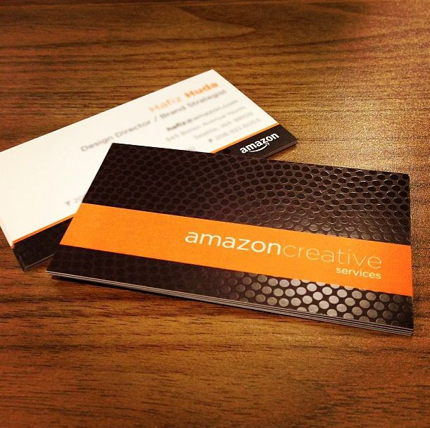 16PT Silk Laminated Business Cards with Spot UV printed by