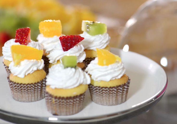 Dolcetti panna e frutta