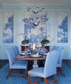 Decorating With Blue|There's no easier hue to work with than blue, in all its warm and cool tones.