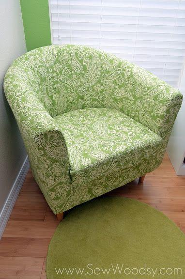 Re-tapisser entièrement un fauteuil IKEA
