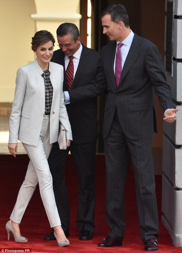 King Felipe and Queen Letizia of Spain visit Puerto Rico