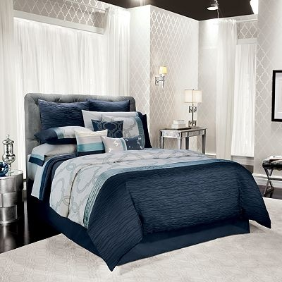 Jennifer Lopez bedding collection Manor Bedding Coordinates-beautiful