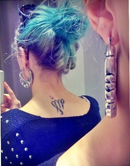 small Virgo sign tattoo #zodiac #Virgo #ink #youqueen #girly #tattoos