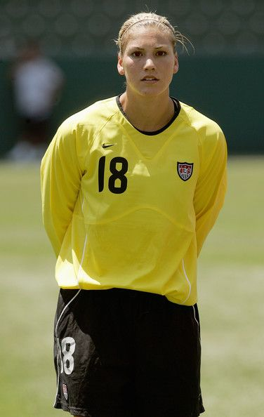 Hope Solo, July 24, 2005. (Stephen Dunn/Getty Images)