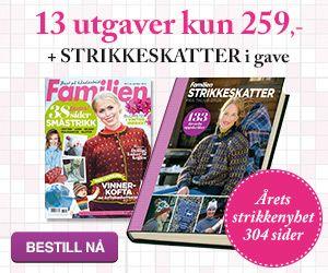 Dagens gratisoppskrift: Høstvarmere | Strikkeoppskrift.com