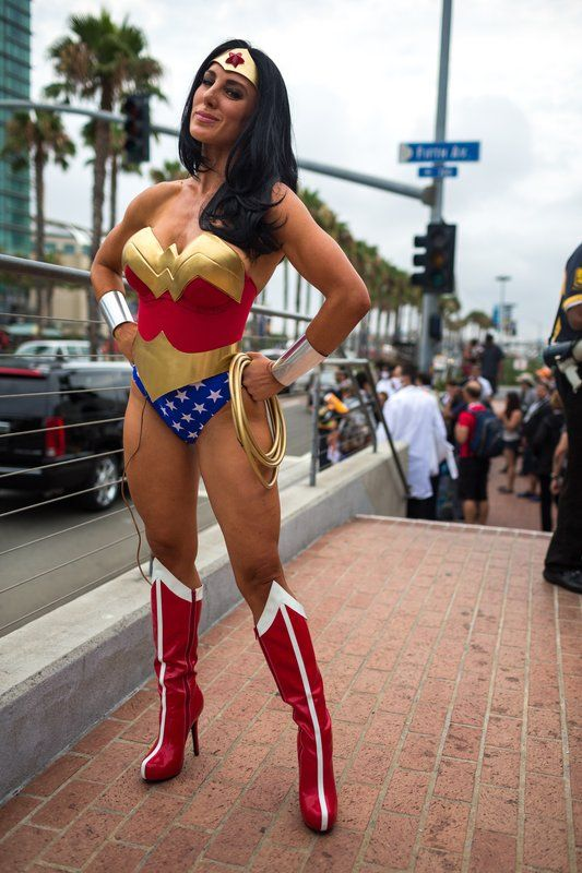 Wonder Woman Comic Costume