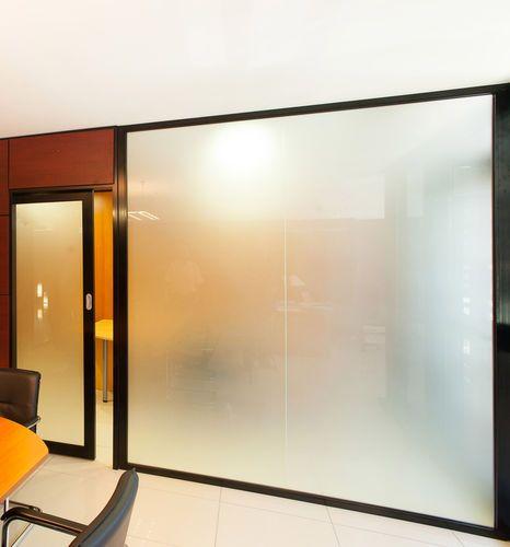 53 best puertas images on pinterest windows iron doors - Tabiques de cristal ...
