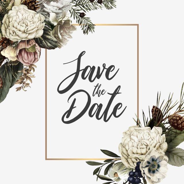 Elegant Wedding Invitation Frame Wedding Invitation