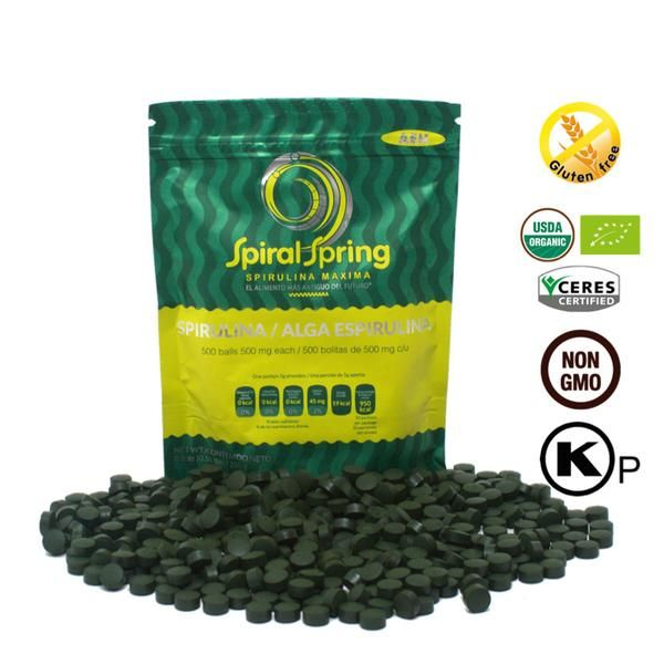 Our easiest way to Take Spirulina Maxima. They Fit perfect with any kind of lifestyle bringing your body's nutritional intake to it's highest level. Can be use throughout the day but we recommend better during morning.