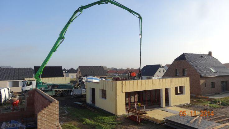 1000 id es sur le th me dalle de beton sur pinterest beton d sactiv banc - Construction eolienne maison ...