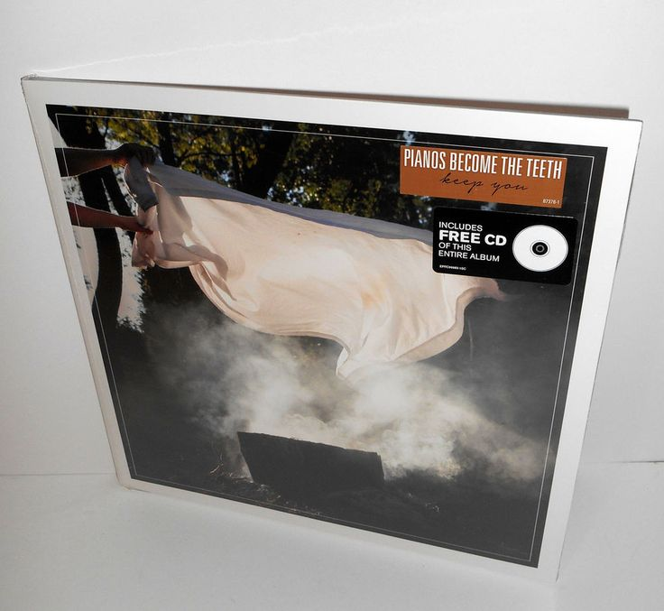 PIANOS BECOME THE TEETH keep you Lp SEALED VINYL Record w/ Cd , epitaph records #AlternativeIndieEmoPunkNewWave
