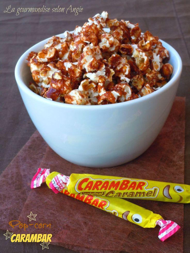 Pop-corn aux Carambar® pour une soirée cinéma régressive ^^