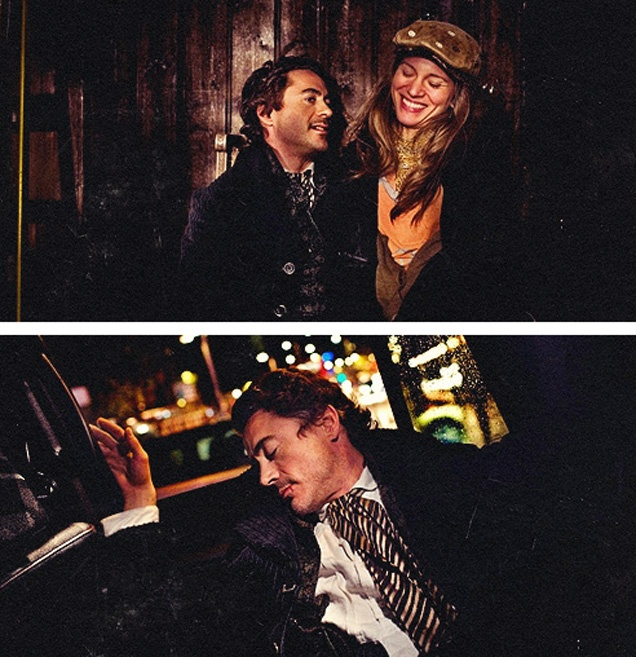 """Sherlock Holmes"" Photoshoot 2 (Robert Downey Jr. and Susan Downey)"
