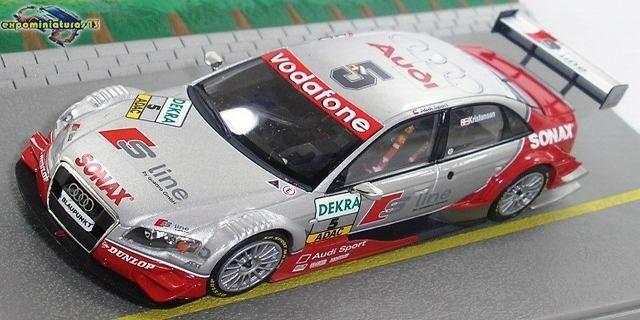 Deutsche Tourenwagen Masters 2005 Audi A4 DTM Tom Kristensen 1/43