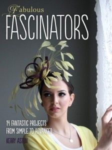A large (104 page) paperback, this book contains a wealth of invaluable information about how to make fascinators, and is written by award-winning milliner Kerry Aston. With 14 fascinator projec