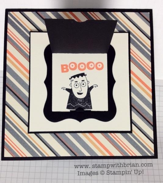googly ghouls peekaboo frames bigz l die howlstooth scaringbone dsp stampin up - Stampin Up Halloween Ideas