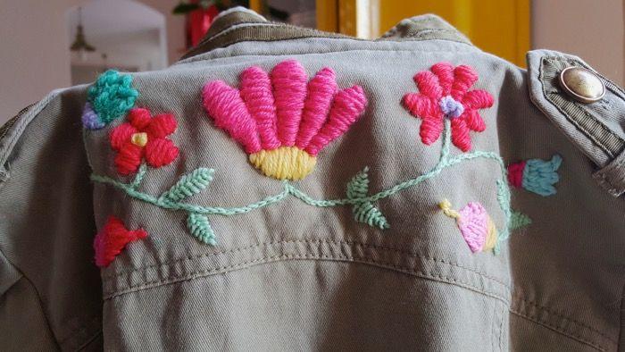 Tutorial bordado mexicano en ropa
