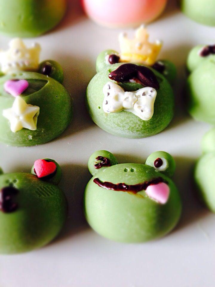 frog valentine chocolate