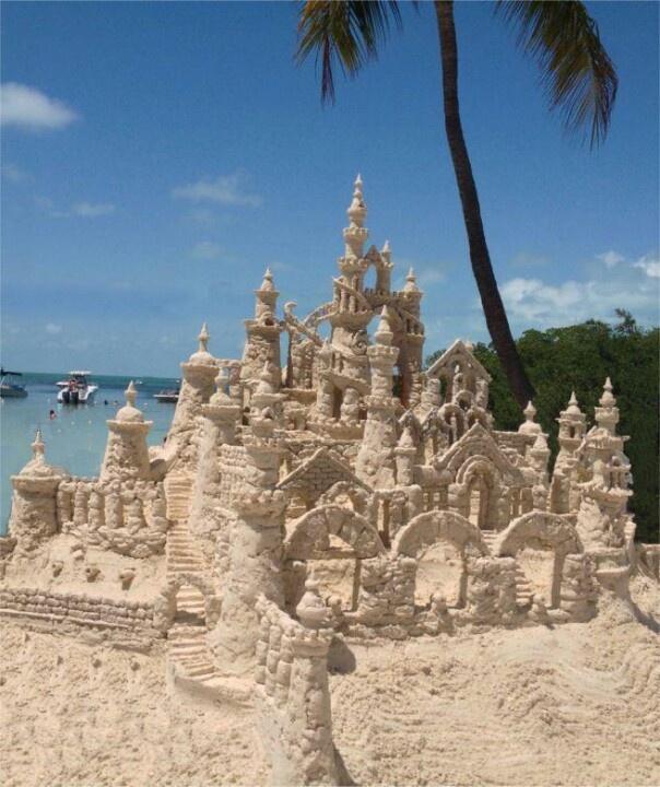 Extreme sandcastle!