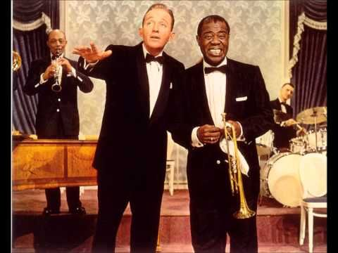 Bing Crosby & Louis Armstrong - Gone Fishin' (1951) - YouTube. Loved this one on our gramaphone.