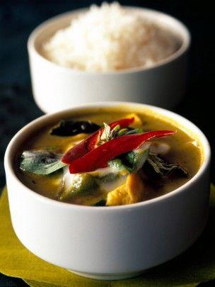 Poulet curry vert thaï
