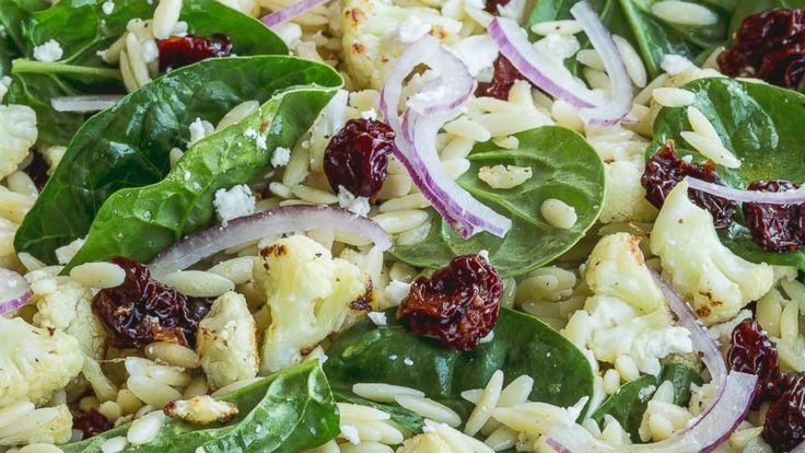 Roasted Cauliflower, Feta, and Orzo Salad - Chrissy Teigen | Recipe - ABC News
