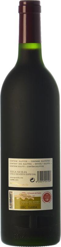 Vega Sicilia Único Reserva Especial - Edición 2015 - Comprar vino Tinto Reserva - Ribera del Duero - Bodegas Vega Sicilia