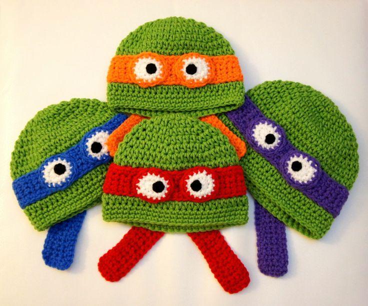 Ninja Turtles Hat Teenage Mutant Ninja Turtles by stylishbabyhats