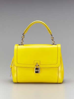 LOVE the color! Dolce & Gabbana The Dolce Bag