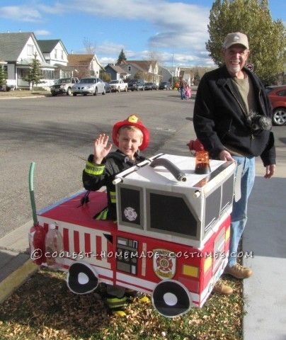 My son Nicholas absolutely loves emergency vehicles, the lights, the sirens, everything, so it was no surprise that he requested to be a fireman for H...