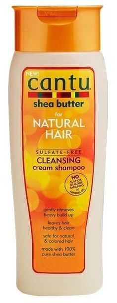 Product Review: Cantu Shea Butter for Natural Hair Sulfate-Free Cleansing Cream Shampoo