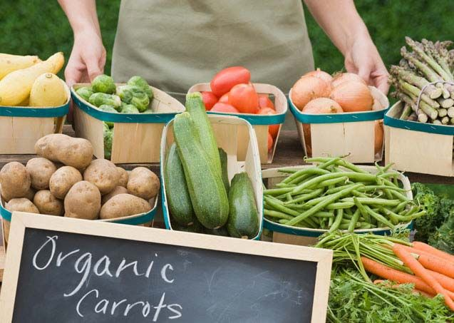 Report Rotator: Farmers Market, Fruits And Vegetables, Buy Organic, Healthy Food, Farmers' Market, Organic Food