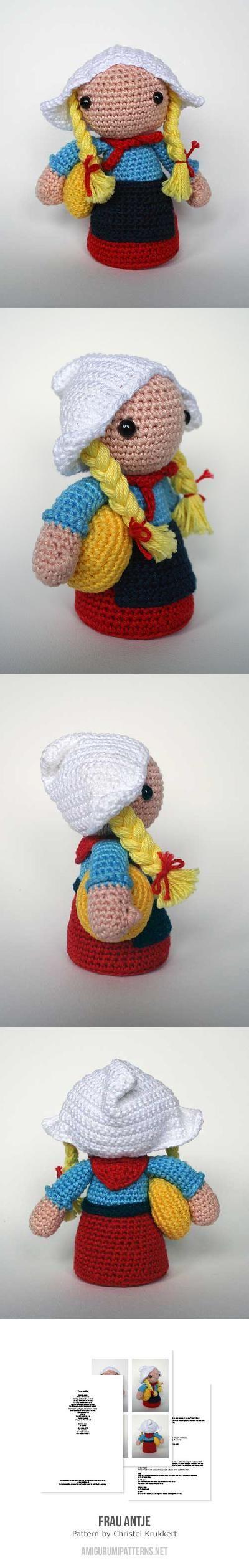 229 besten crochet amigurumi theme dolls Bilder auf Pinterest ...