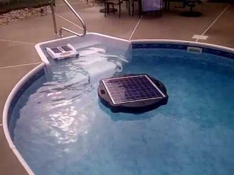 Solar Pool Pump and Filter Solar Pool - YouTube