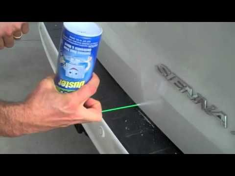"""How to fix a small dent - gonna have to try this on my dimpled """"Magnet for Disaster"""""""