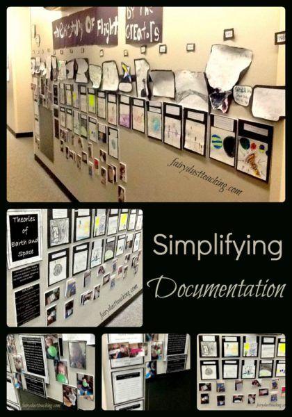 Simplifying Documentation l Fairy Dust Teaching #documentation #reggioinspired