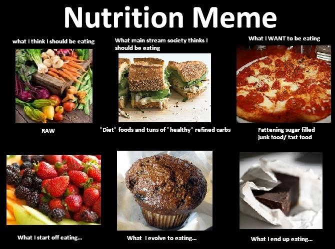Funny Nutrition Memes