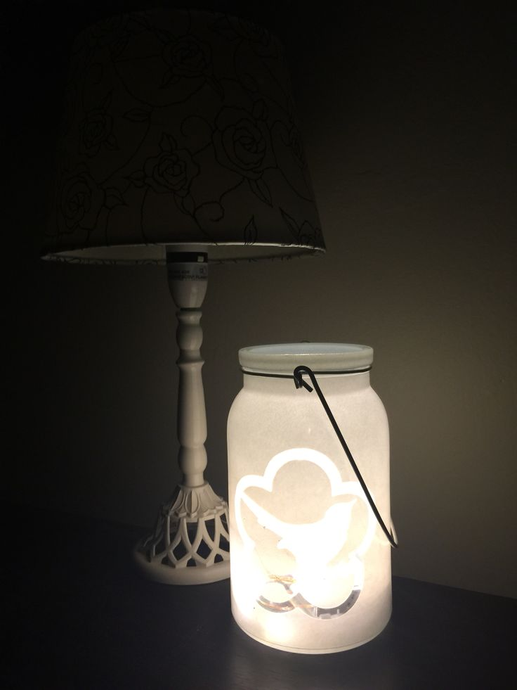 A lovely children's night light. So simple yet so beautiful!