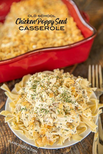 Creamy Chicken Casserole Food In 2018 Casserole Creamy Chicken