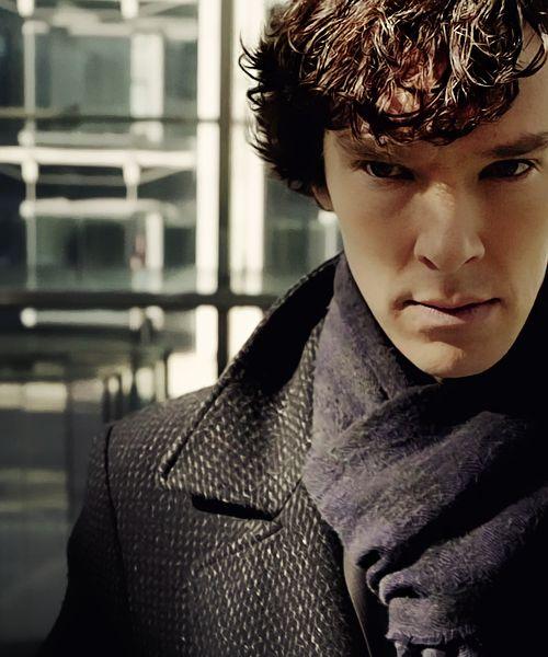 Benedict Cumberbatch as Sherlock Holmes #squee